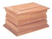 Mahogony Wood Casket