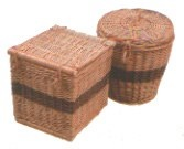 Wicker Caskets