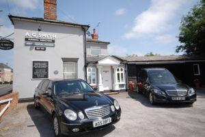 Mercedes Benz hearse & limousine